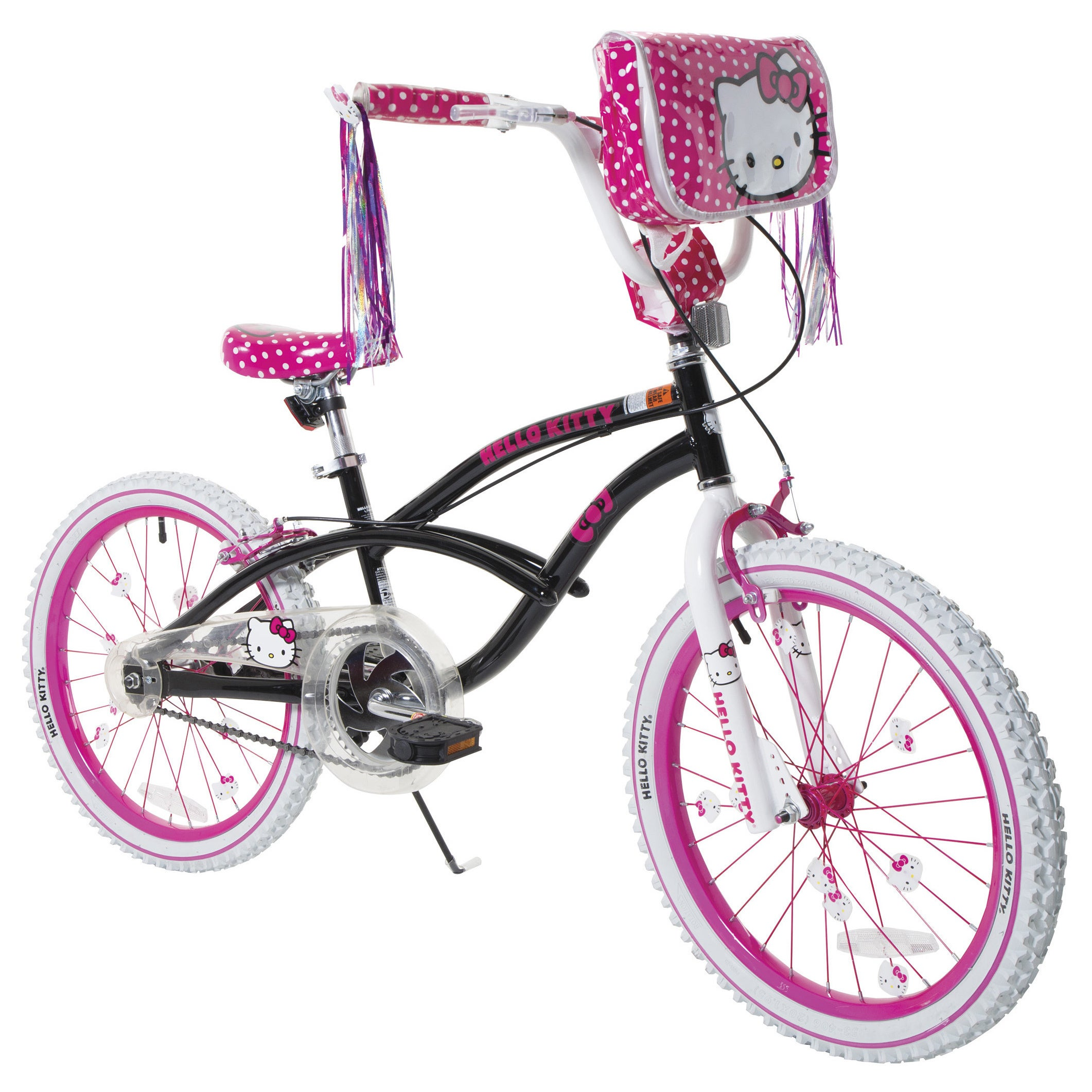 LTD Hello Kitty 20-inch BMX Bike (20'' Hot Pink, Black)