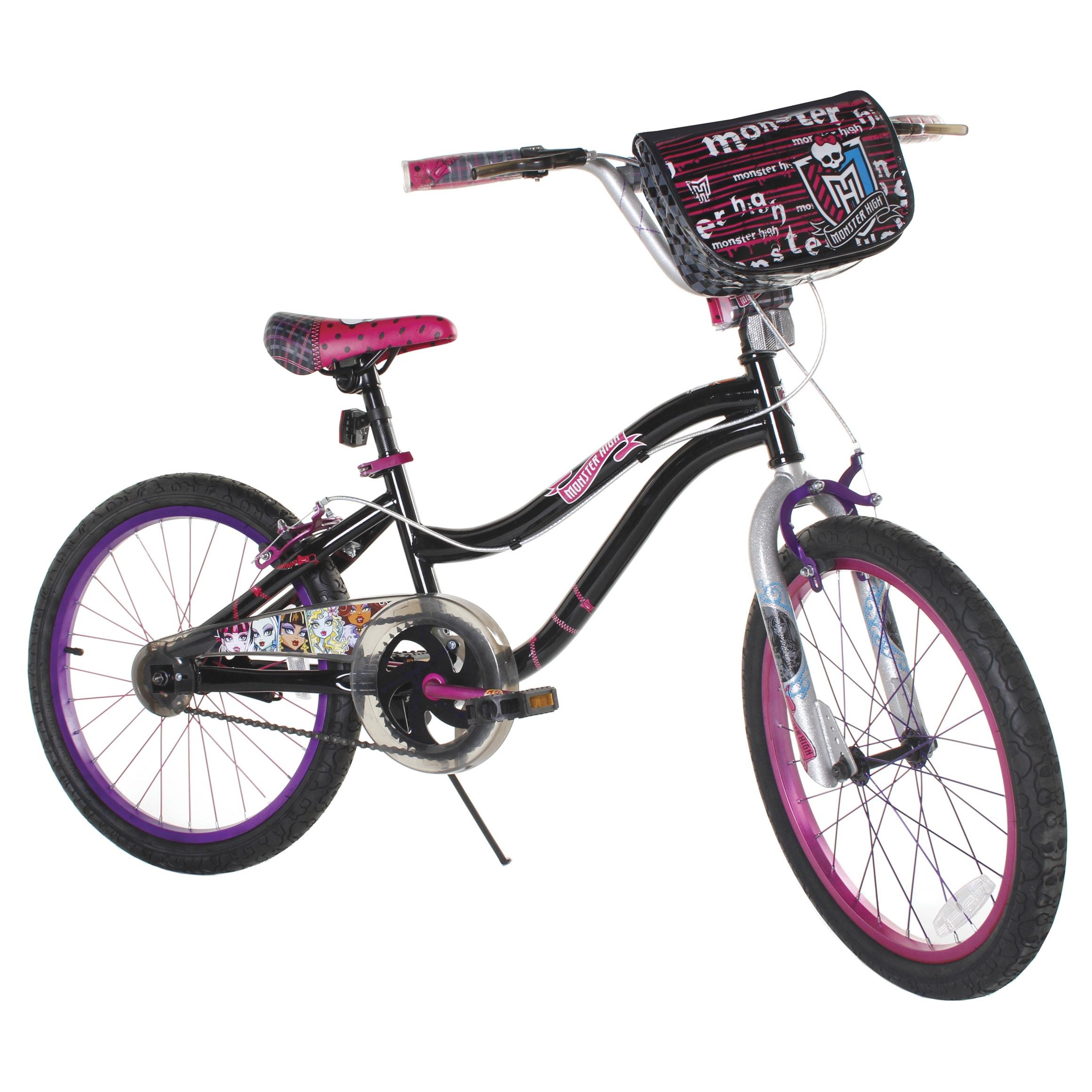 LTD Monster High 20-inch Girls Bike (20'' Pink, Black)