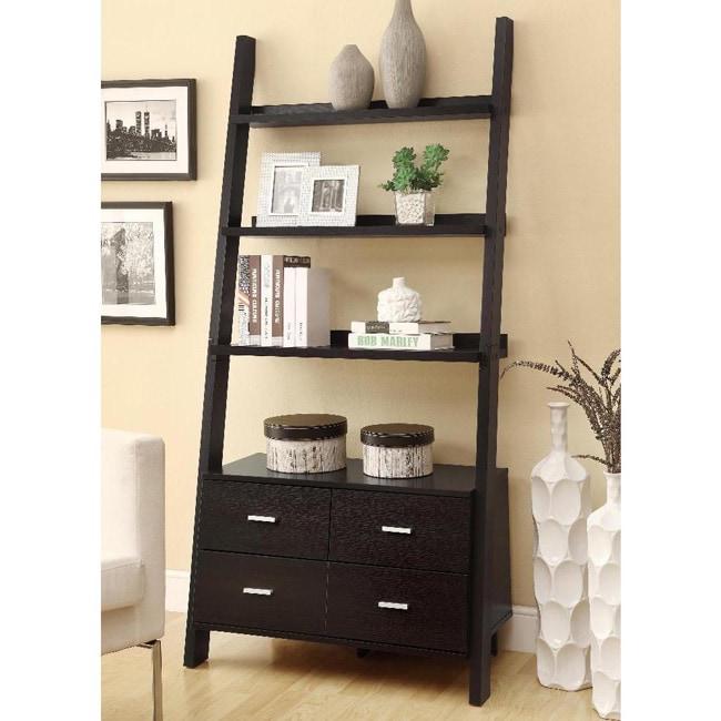 Modish Leaning Ladder Bookshelf