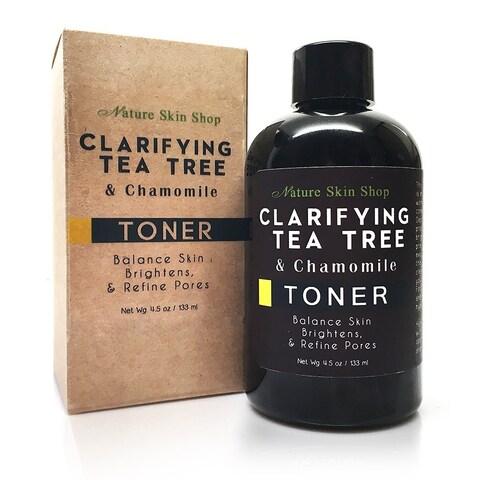 Handmade Clarifying Tea Tree and Chamomile Toner (4 ounces)