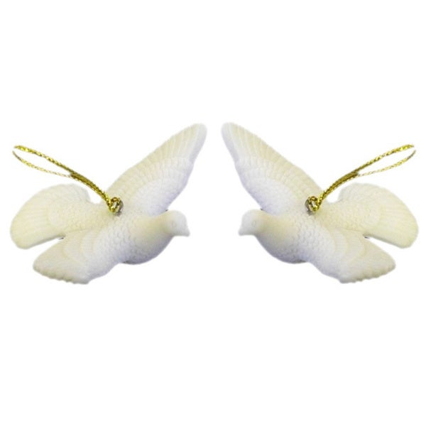 Christmas Tree Doves: Shop Two Turtle Doves Christmas Ornaments