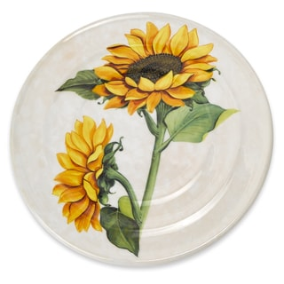 Ceramic Sunflower Trivet
