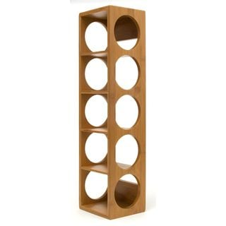 Bamboo 5 Bottle Wine Rack