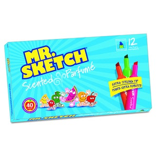 Mr. Sketch Scented Watercolor Marker (12 per Set)