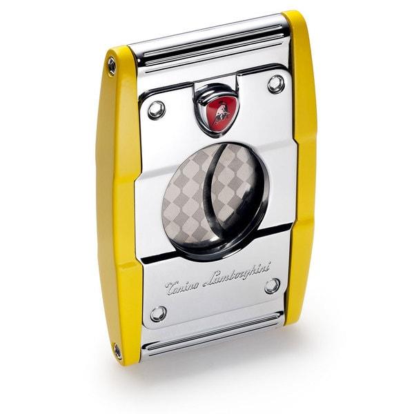 Tonino Lamborghini Precisione Guillotine Cigar Cutter - Yellow