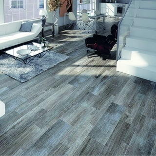 somertile vincoli gris porcelain floor and wall tiles case of 12