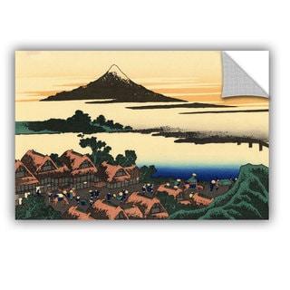 ArtAppealz Katsushika Hokusai 'Dawn At Isawa In The Kai Province ' Removable Wall Art