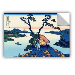 ArtAppealz Katsushika Hokusai 'Lake Suwa In The Shinano Province' Removable Wall Art
