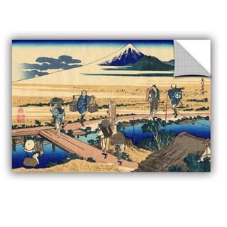 ArtAppealz Katsushika Hokusai 'Nakahara In Sagami Province ' Removable Wall Art