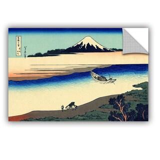 ArtAppealz Katsushika Hokusai 'Tama River In The Province Of Misushi' Removable Wall Art