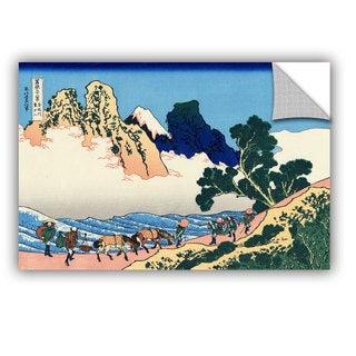ArtAppealz Katsushika Hokusai 'The Back Of The Fuji From The Minobu River' Removable Wall Art