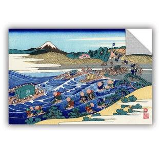 ArtAppealz Katsushika Hokusai 'The Fuji From Kanaya On The Tokaido' Removable Wall Art