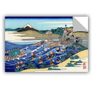 ArtAppealz Katsushika Hokusai 'The Fuji From Kanaya On The Tokaido' Removable Wall Art (4 options available)