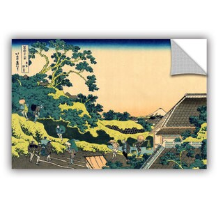 ArtAppealz Katsushika Hokusai 'The Fuji Seen From The Mishima Pass' Removable Wall Art