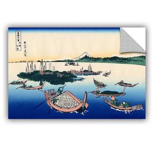 ArtAppealz Katsushika Hokusai 'Tsukuda Island In Musashi Province' Removable Wall Art