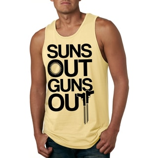 'Suns Out Guns Out' Ultra-soft Fitness Tank Top