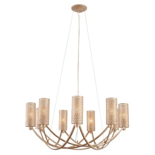 Varaluz Casablanca 9-light Chandelier, Zen Gold