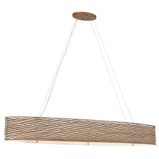 Varaluz Flow 6-light Linear Pendant