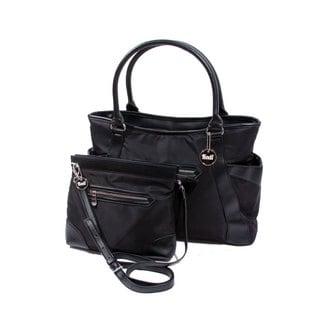 2-in-1 Kodi Black Tote and Handbag