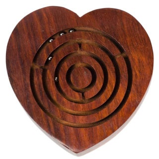 Handmade Heart Labyrinth (India)