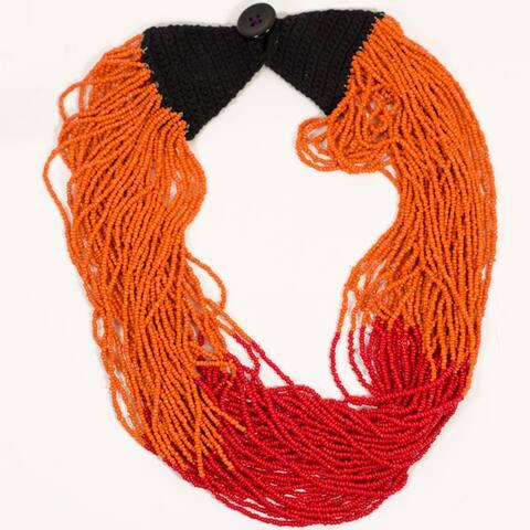 Handmade Izta Volcano Necklace (India)