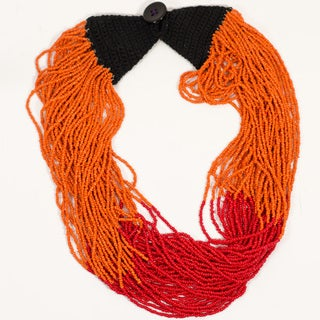 Handmade Izta Volcano Necklace (India)