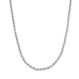 "Rope Chain in .925 Sterling Silver 18"" Tailored"