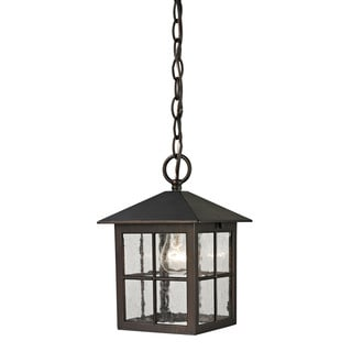 Cornerstone Hazelnut Bronze Shaker Heights Pendant Lantern