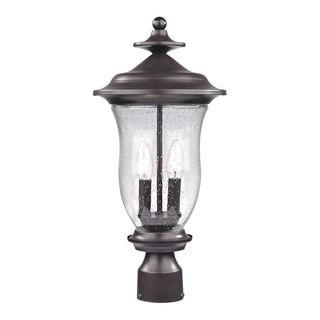 Cornerstone Oil Rubbed Bronze Trinity Post Lantern