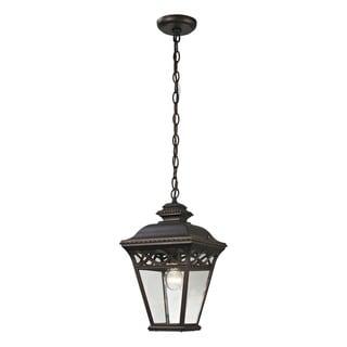 Cornerstone Hazelnut Bronze Mendham 1-light Exterior Pendant Lantern
