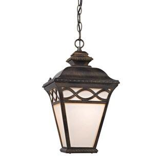 Cornerstone Hazelnut Bronze Mendham 1-light Pendant Lantern