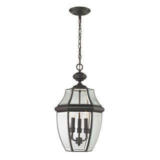 Cornerstone Oil Rubbed Bronze Ashford 3-light Exterior Hanging Lantern