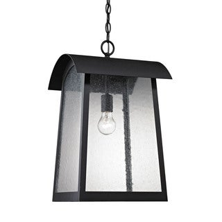 Cornerstone Matte Black Prince Street 1-light Exterior Hanging Lamp