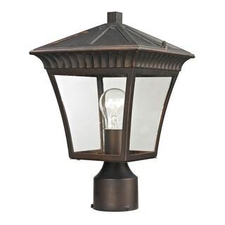 Cornerstone Hazelnut Bronze Ridgewood Post Lantern