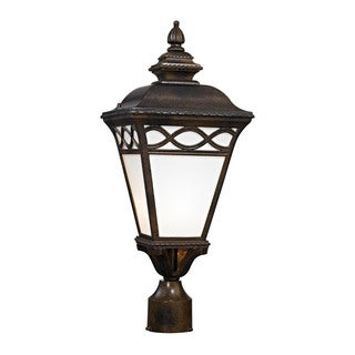 Cornerstone Hazelnut Bronze Mendham 1-light Post Lantern