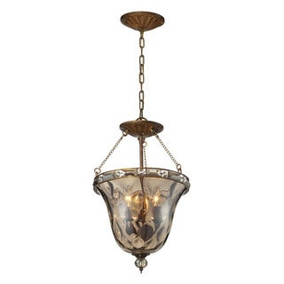 Cornerstone Mocha Cheltham 3-light Pendant