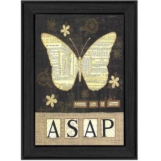 """Always Say a Prayer"" by Annie LaPointe Printed Framed Wall Art"