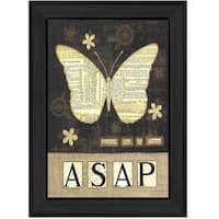 """""""Always Say a Prayer"""" By Annie LaPoint, Printed Wall Art, Ready To Hang Framed Poster, Black Frame"""