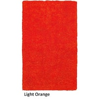 Rizzy Home Commons Hand-Tufted Orange Solid Area Rug (5' x 8') - 5' x 8'