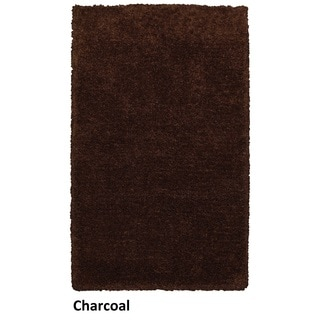 Rizzy Home Commons Hand-tufted Grey Solid Area Rug (5' x 8')
