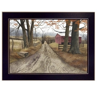 "Link to ""The Road Home"" By Billy Jacobs, Printed Wall Art, Ready To Hang Framed Poster, Black Frame Similar Items in Toy Vehicles"