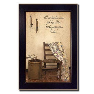 Susie Boyer 'These Three Remain' Framed Art https://ak1.ostkcdn.com/images/products/10291854/P17406252.jpg?impolicy=medium