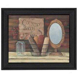 'Country Bath' Framed Art