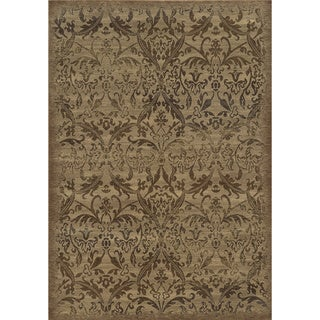 Rizzy Home Chateau Ivory Abstract Area Rug (7'10 x 10'10)