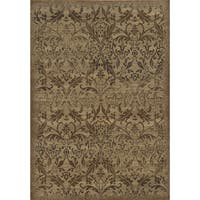 Rizzy Home Chateau Ivory Abstract Area Rug - 6'7 x 9'6
