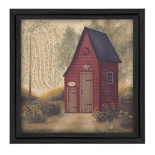 Shop Outhouses Motif Bath Rug On Sale Free Shipping On