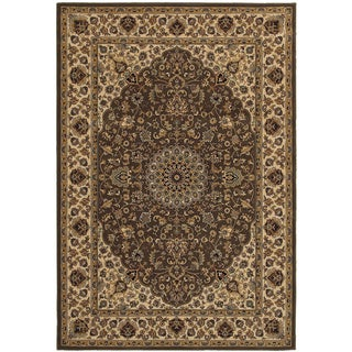Rizzy Home Chateau Brown Area Rug (9'10 x 12'6)