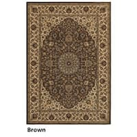 Rizzy Home Chateau Brown Rug - 5'3 x 7'7