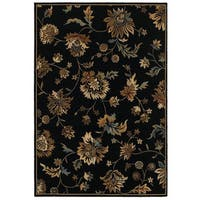 Rizzy Home Chateau Abstract Rug (7'10 x 10'10)