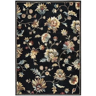"""Rizzy Home Chateau Abstract Rug (7'10 x 10'10) - 7'10"""" x 10'10"""""""